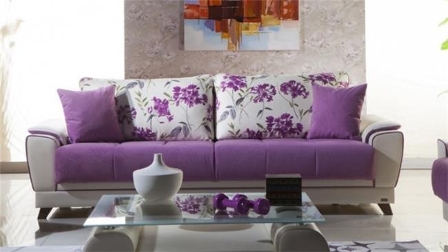 ספה סגולה יחודית - אלבור רהיטים