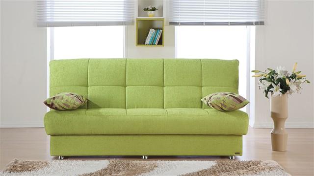 ספה נפתחת בירוק - אלבור רהיטים