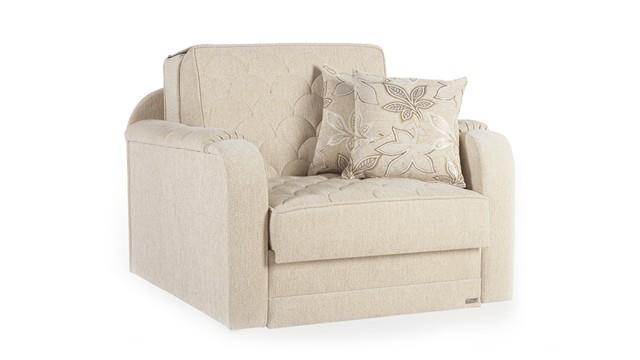 כורסא בגוון שמנת - אלבור רהיטים