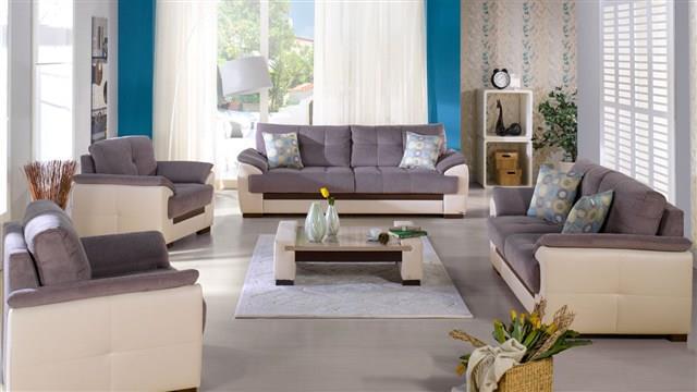 סלון אפור - אלבור רהיטים