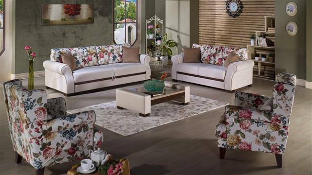 סלום פרחוני מעוצב - אלבור רהיטים