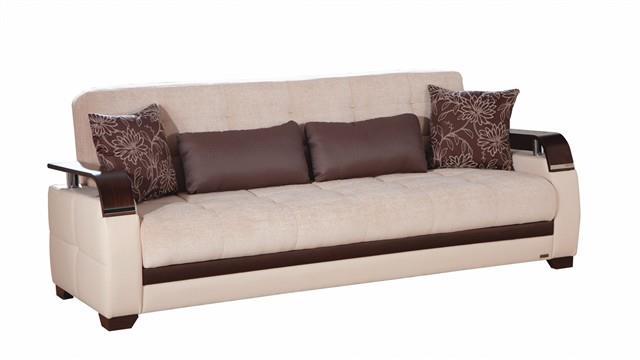 ספה נפתחת בהירה - אלבור רהיטים