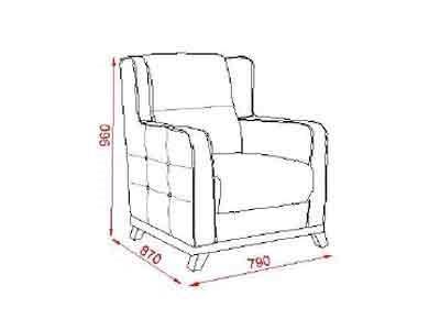 כורסא מרשימה פרחונית - אלבור רהיטים