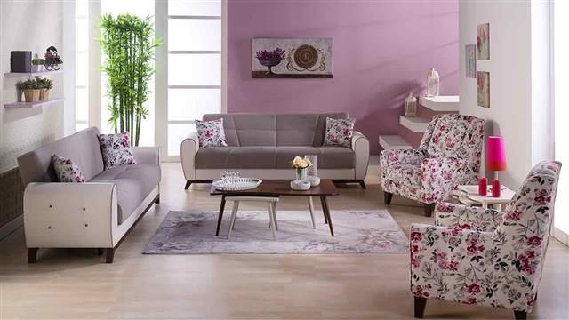 סלון יוקרתי משולב - אלבור רהיטים