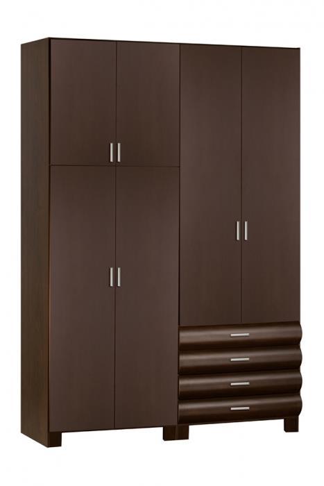 ארון חום מעוצב - אלבור רהיטים