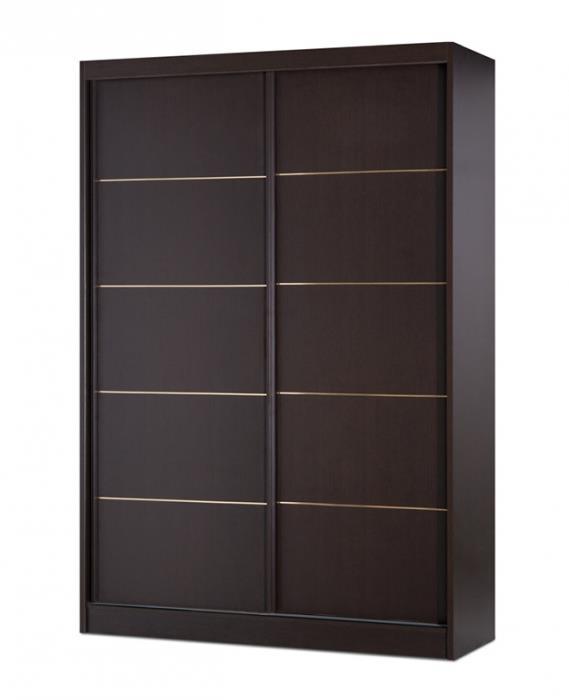 ארון הזזה שחור - אלבור רהיטים