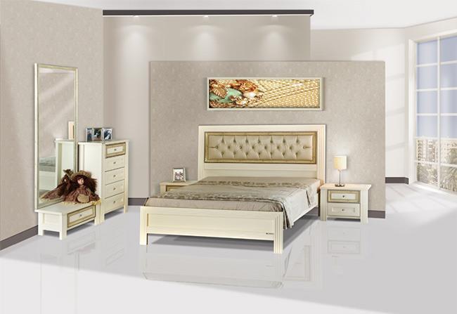 חדר שינה קפיטונאג' - אלבור רהיטים