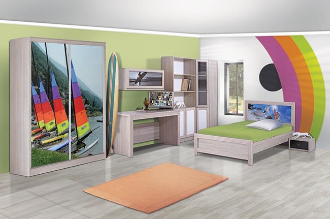 חדר ילדים גלישה - אלבור רהיטים
