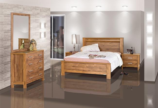 חדר שינה עץ - אלבור רהיטים