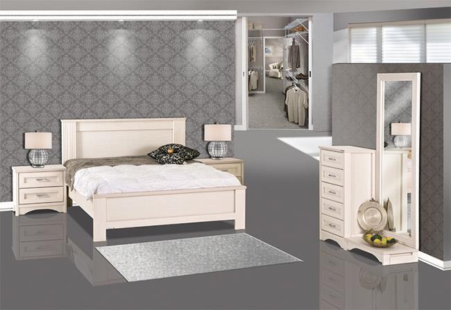 חדר שינה קלאסי - אלבור רהיטים