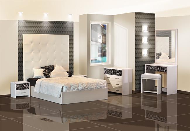 חדר הורים רומנטי - אלבור רהיטים