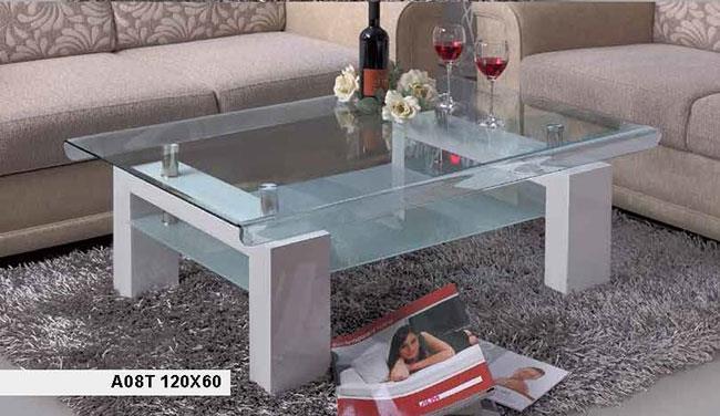 שולחן קפה מזכוכית - אלבור רהיטים