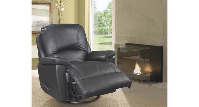 כורסא שחורה - אלבור רהיטים