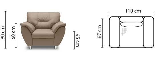 כורסא Amigo - אלבור רהיטים