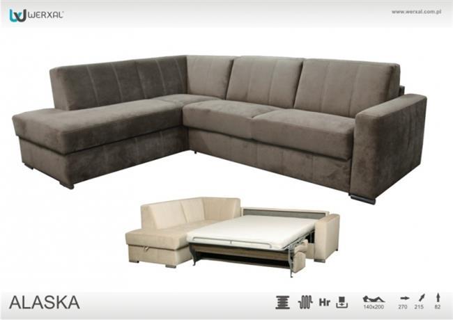 ספה פינתית נפתחת Alaska - אלבור רהיטים