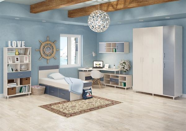 חדר ילדים אלמוג - אלבור רהיטים