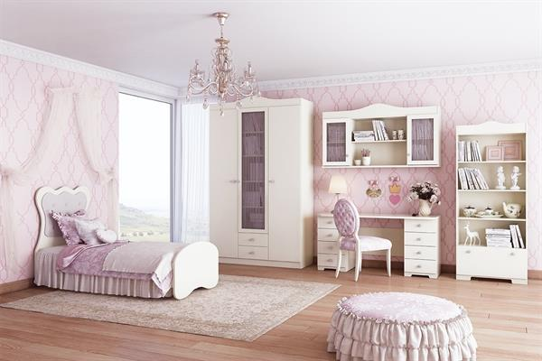 חדר ילדים פרינסס - אלבור רהיטים