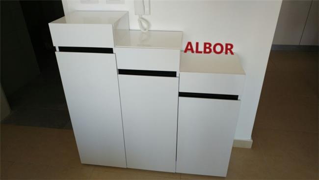 ארון נעליים 3 דלתות   - אלבור רהיטים