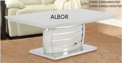 שולחן אפור דגם C05-1RY - אלבור רהיטים