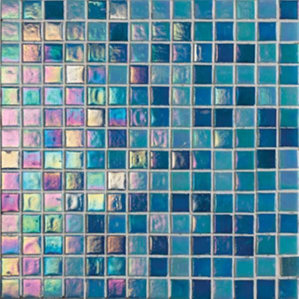 פסיפס כחול לבריכה - אבני ניצן