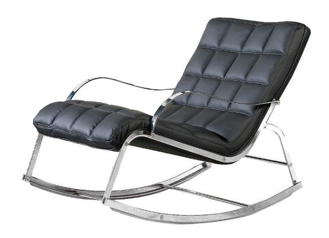 ג'וני כורסת נדנדה עור - כסא נדנדה
