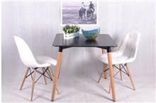 כסא רגלי עץ - מבית כסא נדנדה