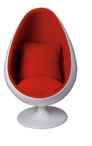 כורסאת מעצבים נירוונה - כסא נדנדה