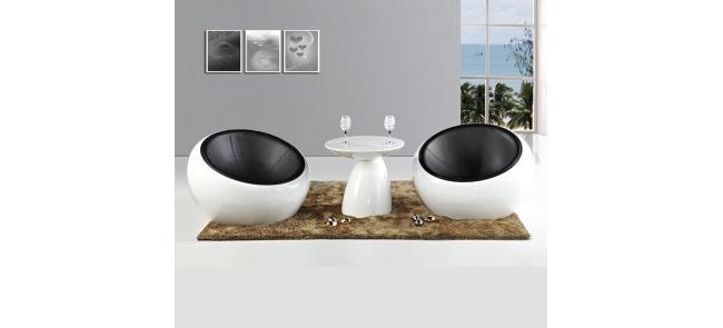 כורסה בעיצוב מודרני - כסא נדנדה