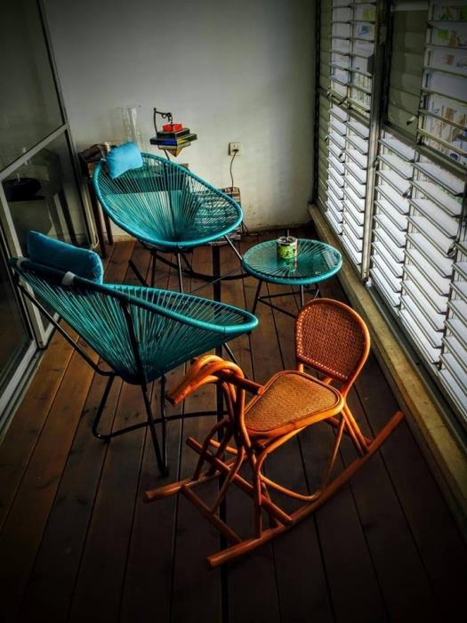 סט סליזי - כסא נדנדה