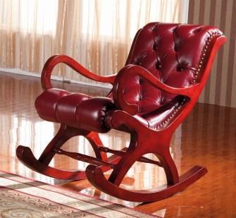 ספרטה כורסת נדנדה עור - כסא נדנדה