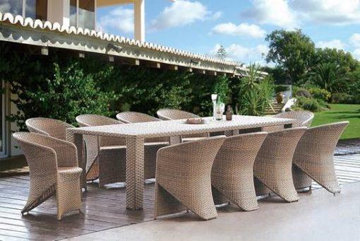 מערכת ישיבה לגן ולמרפסת מדגם פאבלו - כסא נדנדה