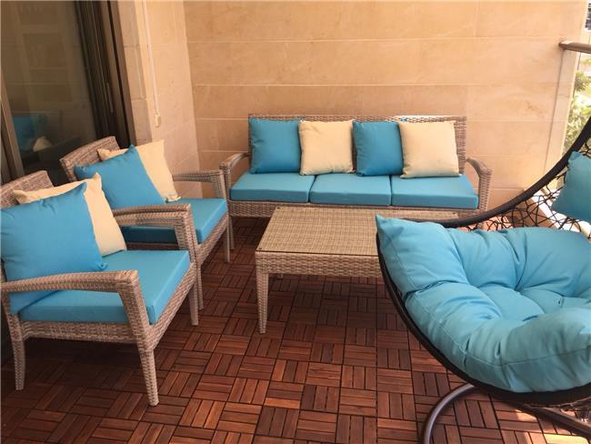 פינת ישיבה מדגם אלכסנדריה - כסא נדנדה