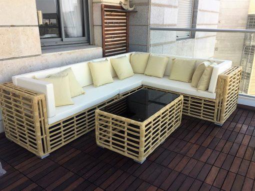 מערכת ישיבה אוסקה - כסא נדנדה