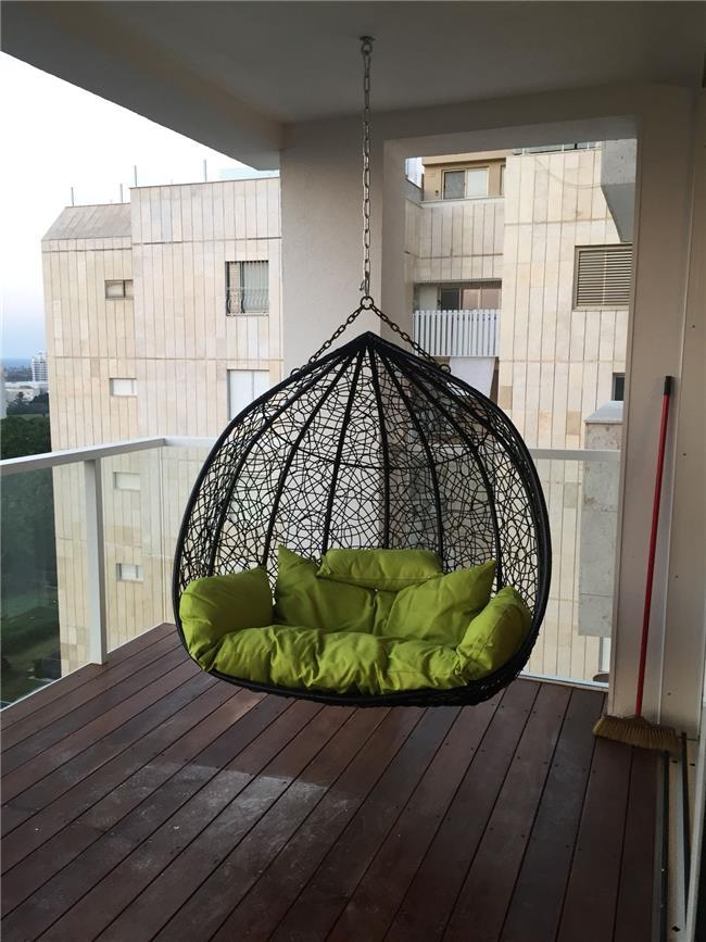 ערסל זוגי תלוי מהתקרה - כסא נדנדה