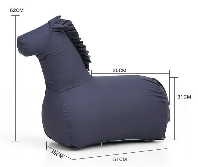 פוף סוס לילדים - כסא נדנדה