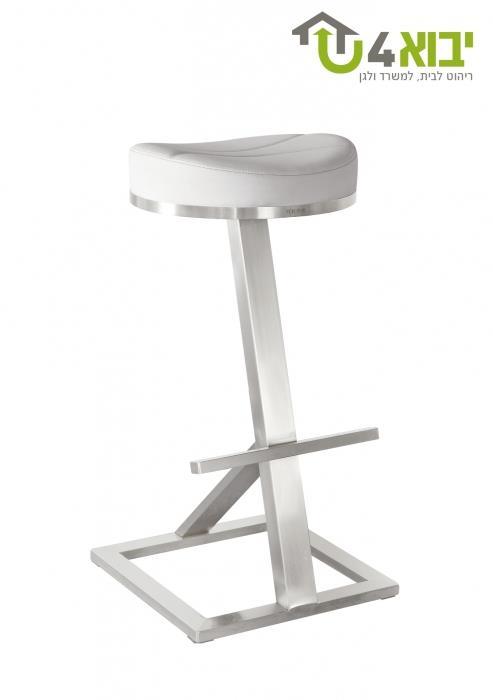 כיסא בר יחודי לבן - יבוא 4 יו