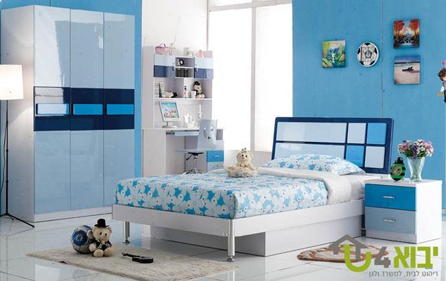 חדר ילדים קומפלט כחול - יבוא 4 יו