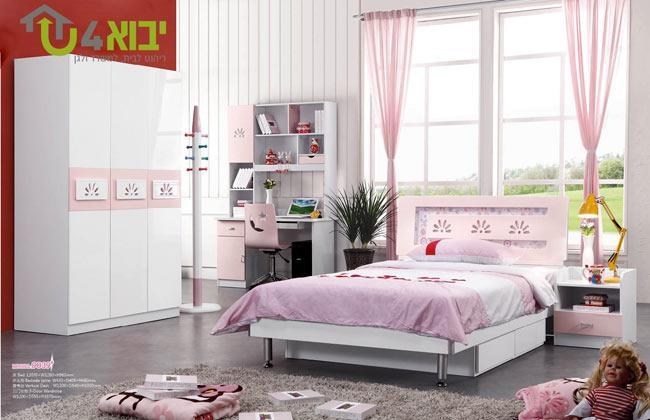 חדר בנות אלגנטי - יבוא 4 יו