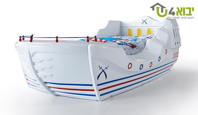 מיטת ילדים ספינת מלחים - יבוא 4 יו