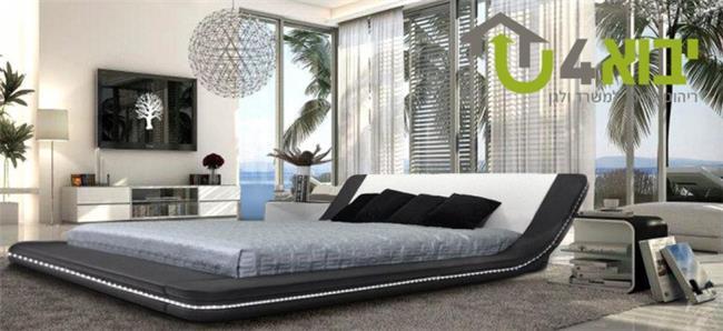 מיטה זוגית אלינור  - יבוא 4 יו