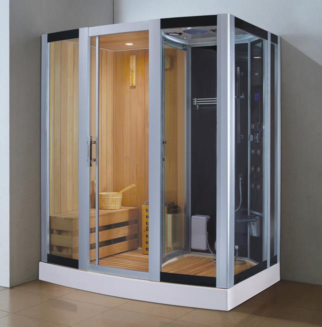 מקלחון עיסוי בשילוב סאונה - יבוא 4 יו