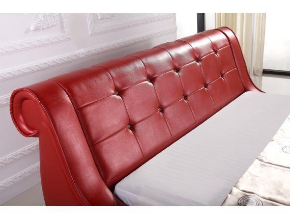 מיטת הורים אדומה - יבוא 4 יו