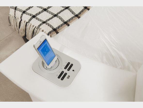 מיטה זוגית עגולה מעיין  - יבוא 4 יו