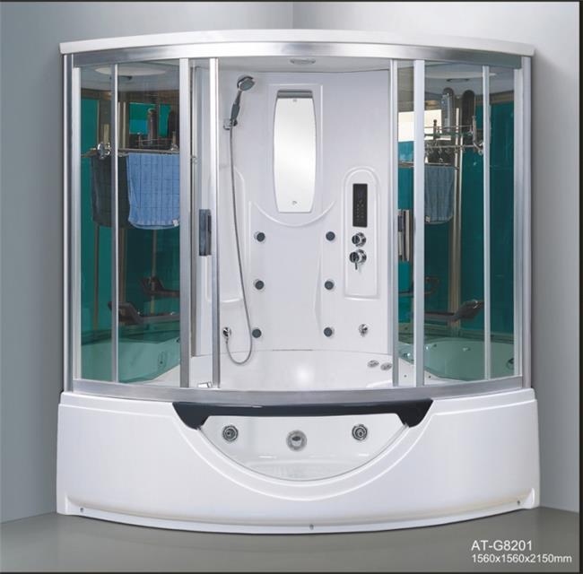 מקלחון עיסוי פינתי ענק ומפנק דגם 8201 - יבוא 4 יו