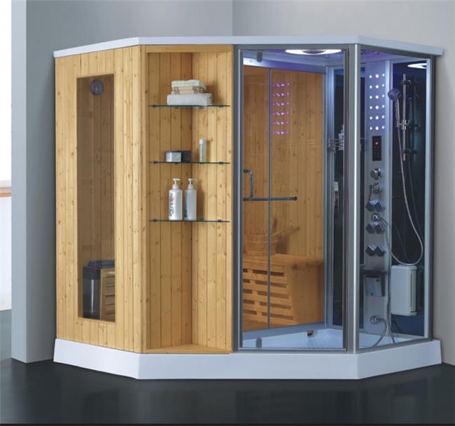מקלחון עיסוי משולב סאונה ענק דגם 8857 - יבוא 4 יו