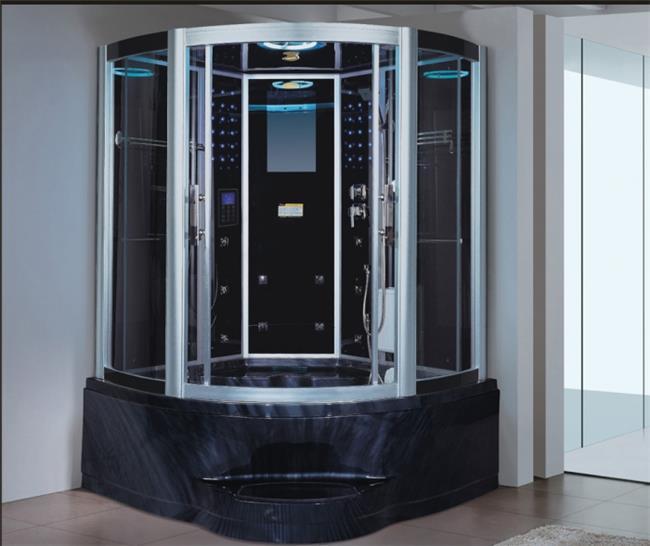 מקלחון עיסוי פינתי גדול ומפנק דגם 201 - יבוא 4 יו