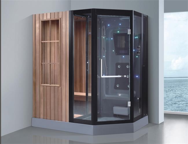 מקלחון עיסוי משולב סאונה ענק דגם 8865 - יבוא 4 יו