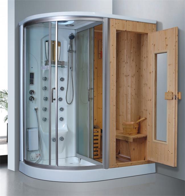 מקלחון עיסוי משולב סאונה דגם 8855 - יבוא 4 יו