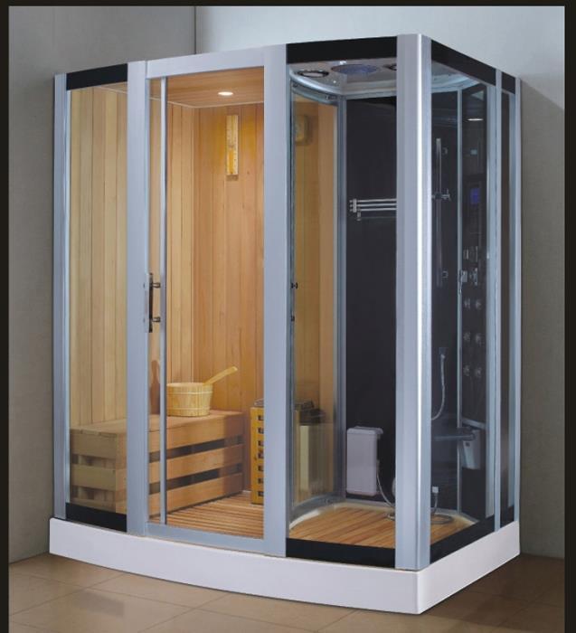 מקלחון עיסוי משולב סאונה דגם 8853-1 - יבוא 4 יו