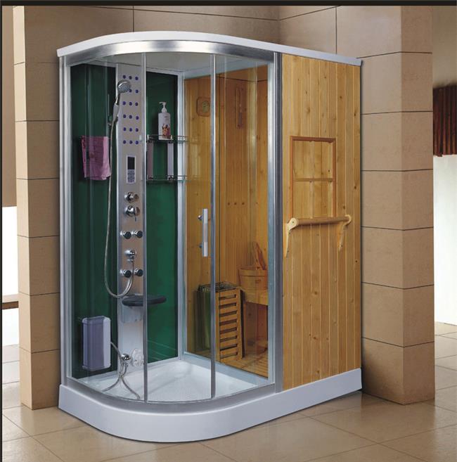 מקלחון עיסוי משולב סאונה דגם 1710 - יבוא 4 יו
